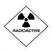 Hazard safety sign - Radioactive 059